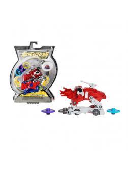 Машинка-трансформер «Пирозавр» Дикие Скричеры 2 уровень (Screechers Wild)