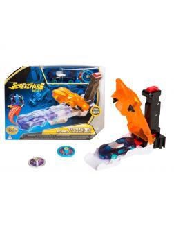 Скричер-катапульта оранжевая и машинка Дикие Скричеры игровой набор (Screechers Wild)