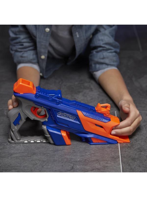 Трек-Бластер НЕРФ Нитро «Лонгшот» (Nerf Nitro Longshot) C0784EU4 Hasbro