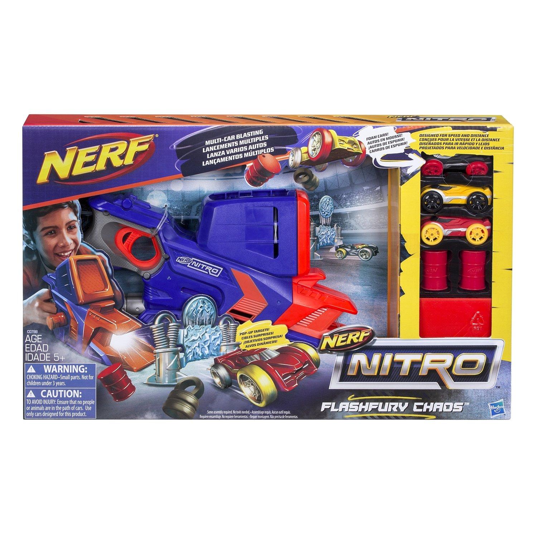 Трек-Бластер НЕРФ Нитро «Флэшфьюри» (Nerf Nitro Flashfury) C0788EU4 Hasbro