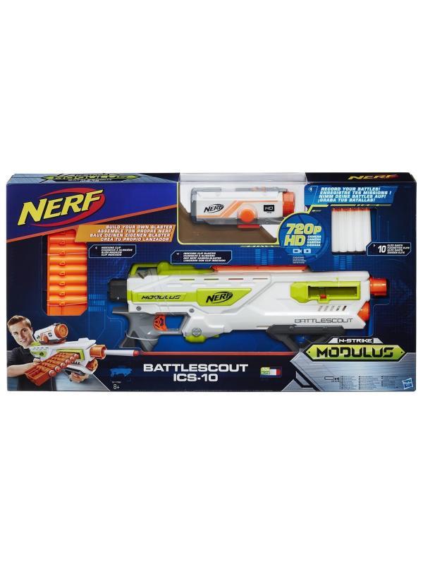 Игрушечный Бластер НЕРФ Модулус «Баттлскаут» (Nerf Modulus Battlescout) B1756EU6/B1756EU4 Hasbro