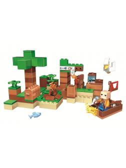 Конструктор Bl «На рыбалке» 11132 (Minecraft) / 183 детали
