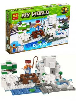 Конструктор Bl «Зимняя рыбалка» 10960 (Minecraft) / 215 деталей