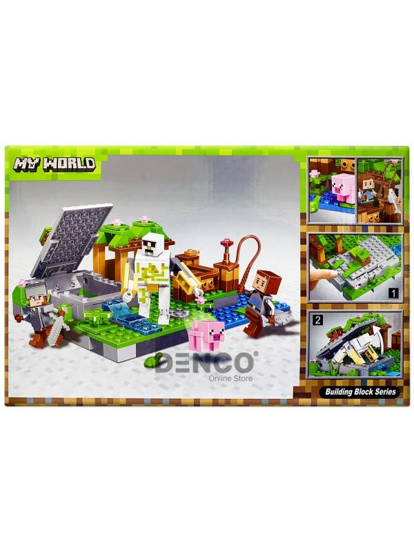 Конструктор Bl «Голем на ферме» 10962 (Minecraft) / 219 деталей