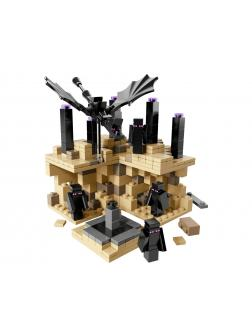 Конструктор Bl Minecraft «Микромир: Край» 10173 (21107), 440 деталей