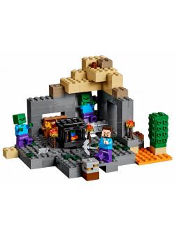 Конструктор Bl «Подземелье» 10390 (Minecraft 21119) / 219 деталей