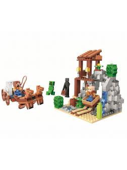 Конструктор Bl Minecraft «Погоня» 11137 / 303 деталей