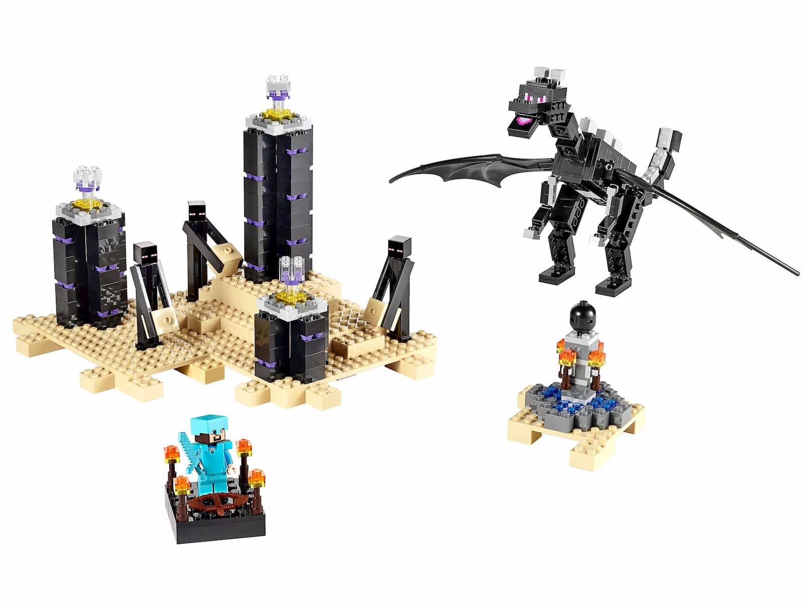 Конструктор «Дракон Края» 10178 (Minecraft 21117) / 632 деталей