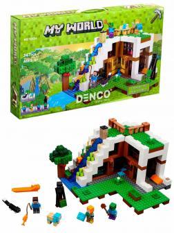 Конструктор «База на водопаде» 10624 (Minecraft 21134) / 747 деталей