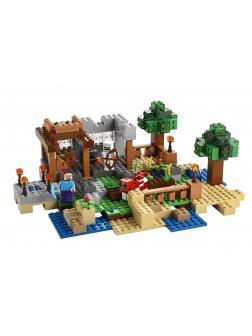 Конструктор Bl «Верстак: 8 сюжетов в 1» 10177 (Minecraft 21116) / 517 деталей