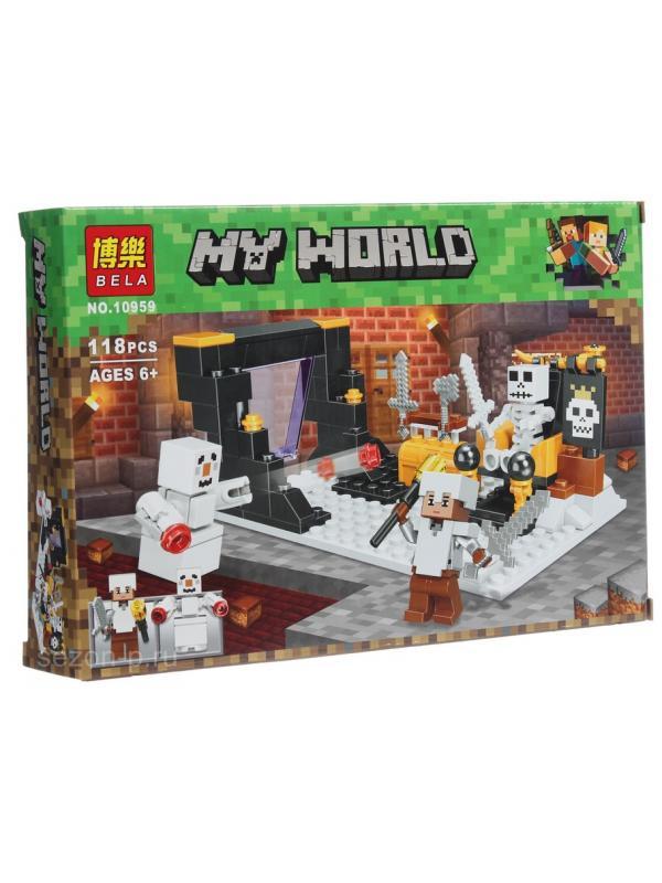 Конструктор Bl Minecraft «Логово Снежного голема» 10959 / 118 деталей