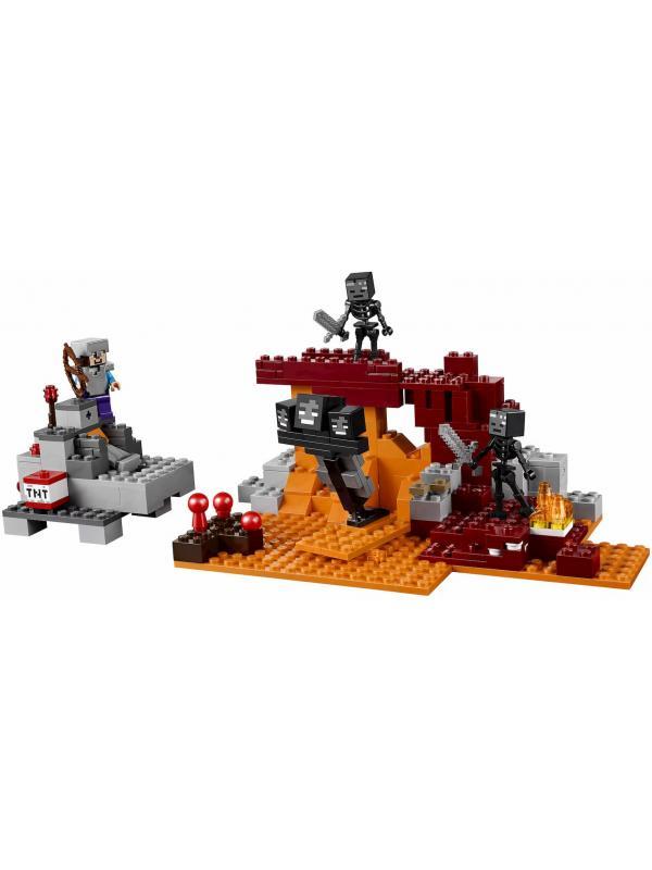 Конструктор «Иссушитель» 10469 (Minecraft 21126) / 324 детали