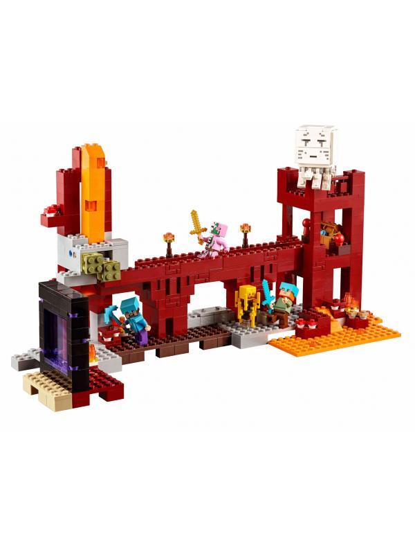 Конструктор «Крепость Нижнего мира» 10393 (Minecraft 21122) / 571 деталь