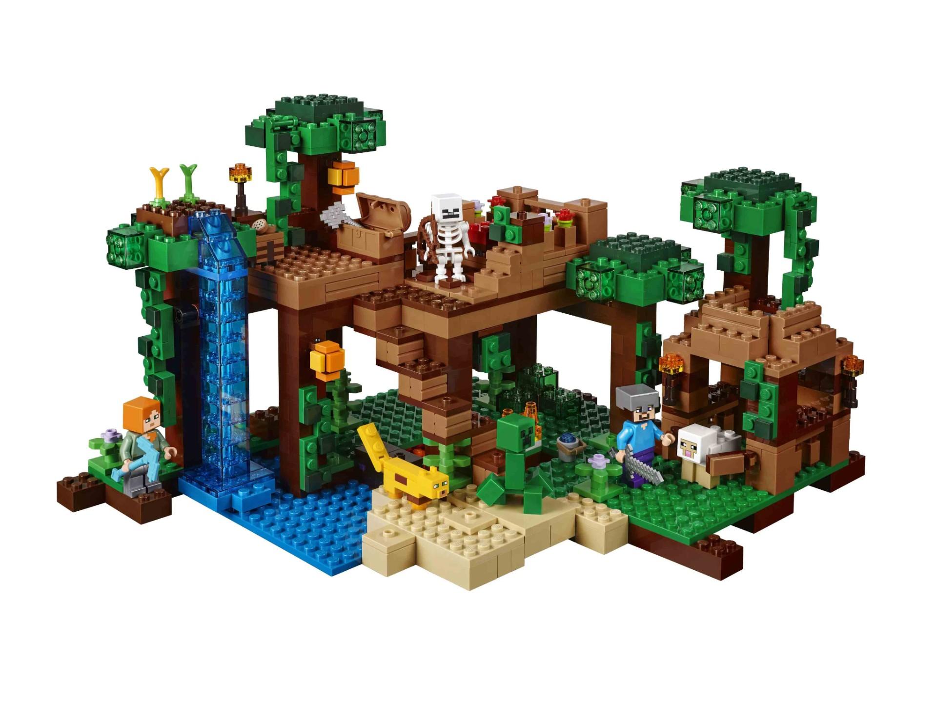 Конструктор Bl «Домик на дереве в джунглях» 10471 (Minecraft 21125) / 718 деталей