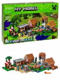 Конструктор Bl «Деревня» 10531 (Minecraft 21128) / 1622 детали