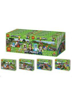 Конструктор  Minecraft «Постройки» 33267 (Совместимый с ЛЕГО), 409 деталей