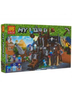 Конструктор Ll Minecraft «Рудник» 33099 672 детали