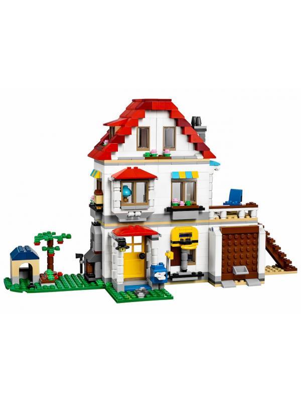 Конструктор Minecraft 3 в 1 «Загородный дом» 33077 (31069), 738 деталей