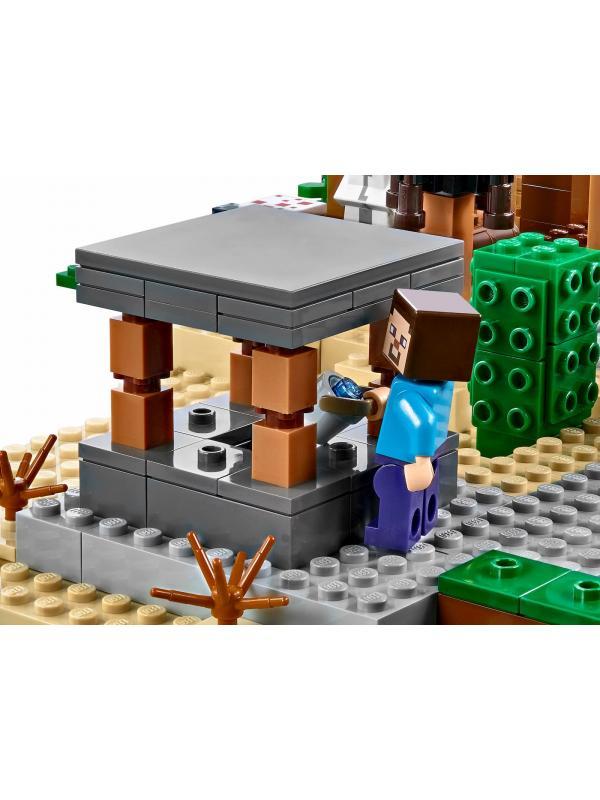 Конструктор PRCK Minecraft «Деревня» 63021 / 1106 деталей