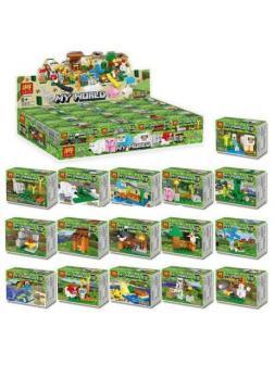 Суперпак минифигурок Ll «Герои и животные» 33213 (Minecraft ), 16 штук
