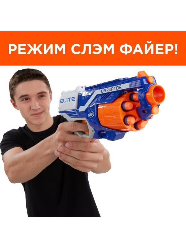 Игрушечный бластер НЕРФ Элит «Дисраптор» (NERF Elite Disruptor) B9837EU4