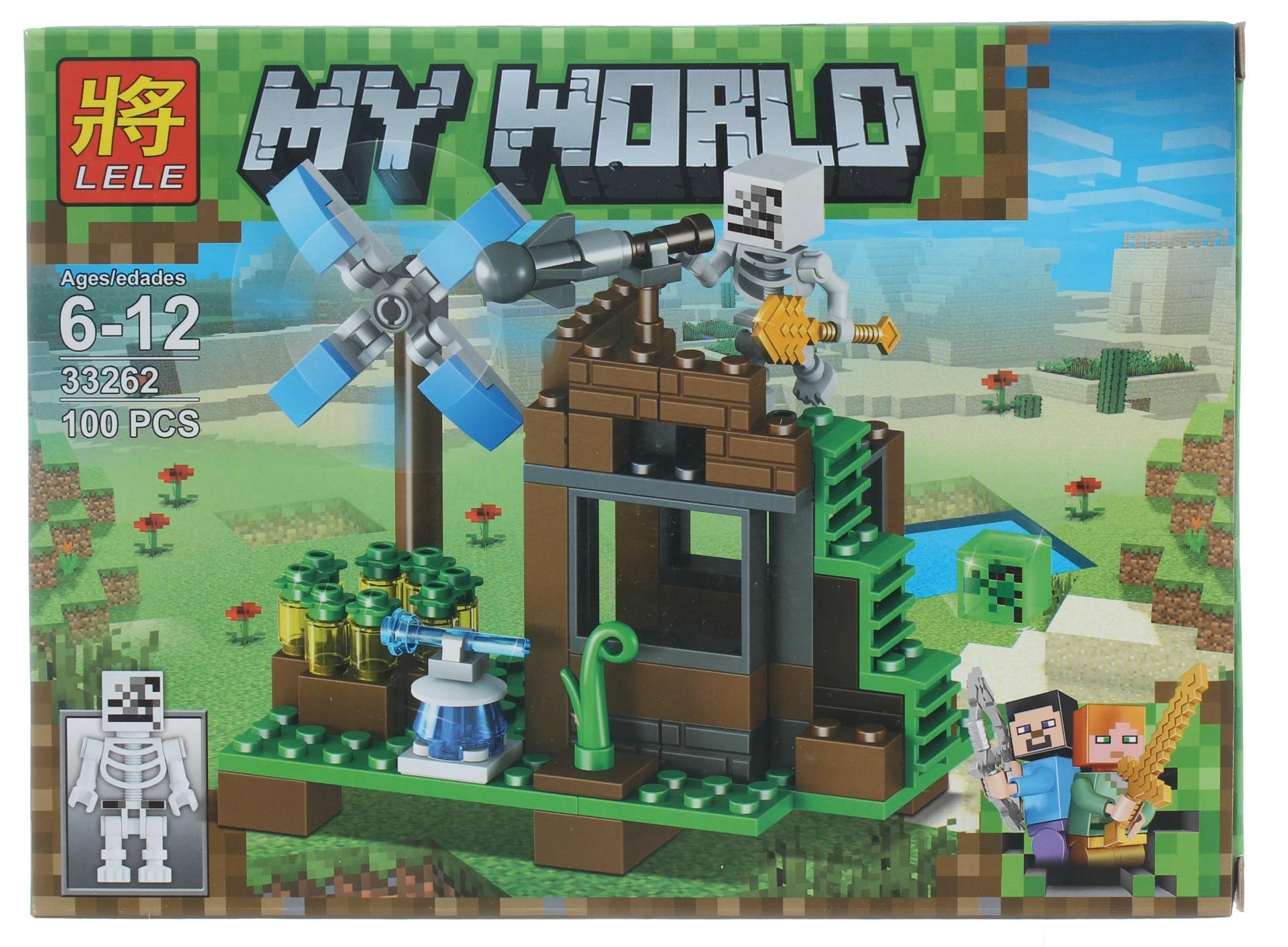 Суперпак конструкторов Minecraft «Убежище ведьмы» 33262 (Совместимый с ЛЕГО), 100 деталей