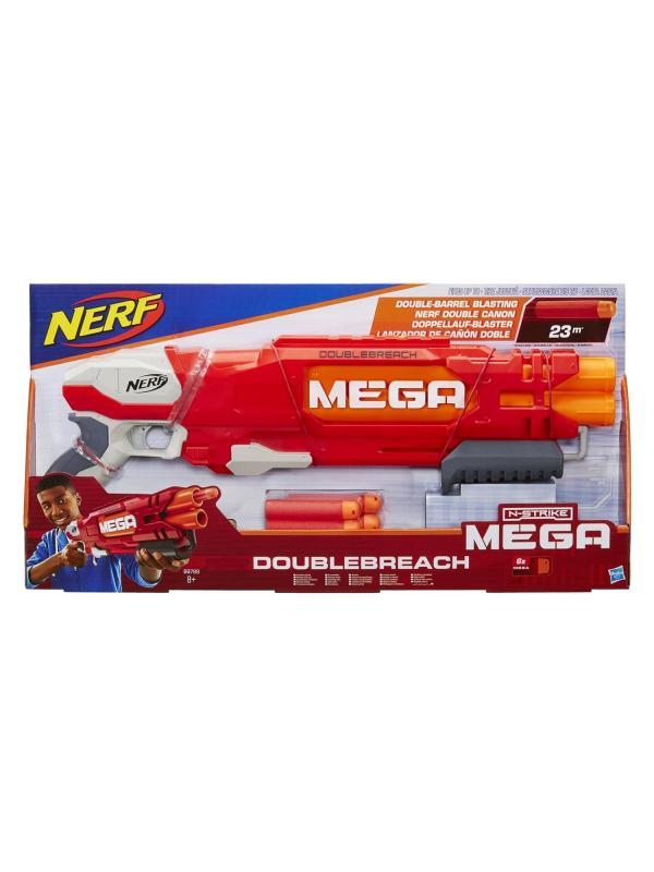 Игрушечный Бластер НЕРФ Мега «Даблбрич» (NERF Mega Dublebrich) B9789EU4