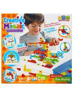 Конструктор Creative Mosaic Панель с отверткой / 234 деталей