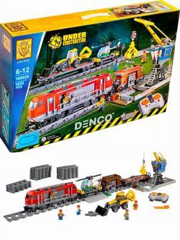 Конструктор Lion King «Мощный грузовой поезд» 180028 (City 60098) / 1033 деталей