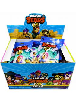 Набор-сюрприз Brawl Stars (Бравл Старс) 1 фигурка+3 карточки / 1 Серия