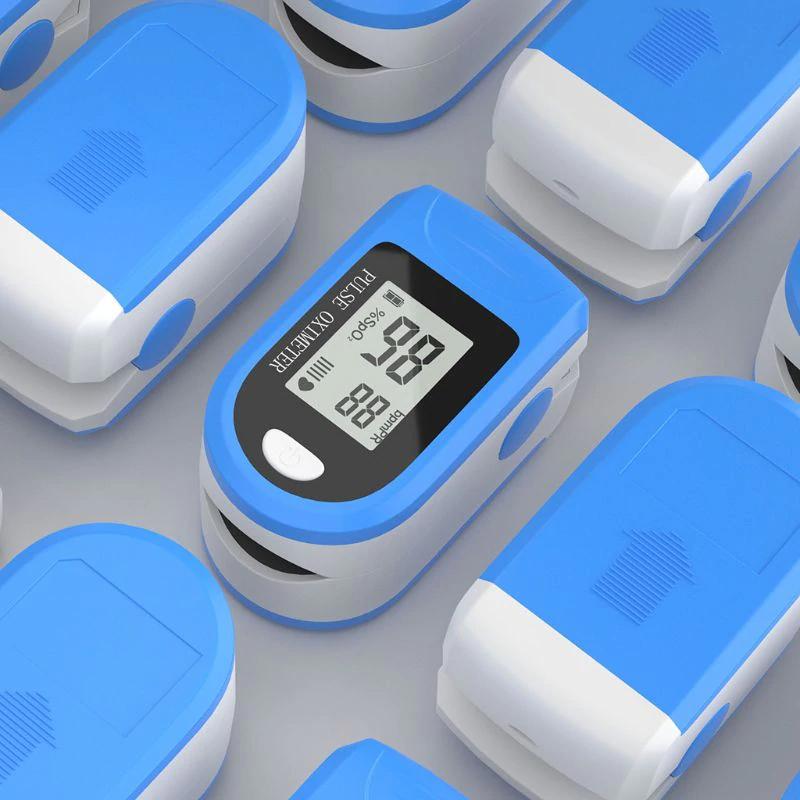Пульсоксиметр Pulse Oximeter X1906 Пальцевой оксиметр измеритель насыщения крови