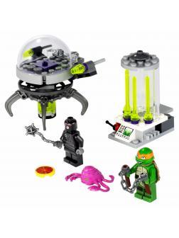 Конструктор Bl «Побег из лаборатории Крэнга» 10206 (Ninja Turtle 79100) 94 детали