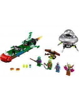 Конструктор Bl «Нападение с воздуха» 10263 (Ninja Turtle 79120) 285 деталей