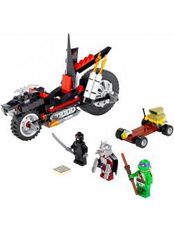 Конструктор Bl «Мотоцикл-дракон Шреддера» 10207 (Ninja Turtle 79101) 203 детали
