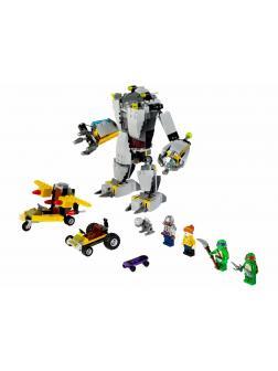 Конструктор Bl «Нападение робота Бакстера» 10209 (Ninja Turtle 79105) 404 детали
