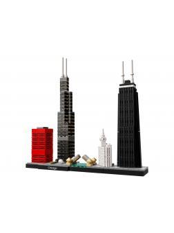 Конструктор Bl «Чикаго» 10677 (Architecture 21033) 444 детали
