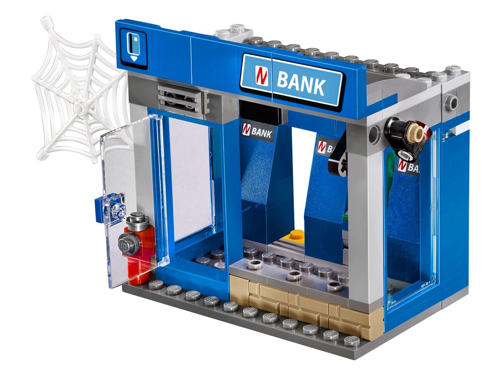 Конструктор Bl «Ограбление банкомата» 10742 (Super Heroes 76082) 207 деталей
