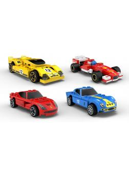 Конструктор DECOOL «Гоночная машина» 2216-19 (Speed Champions) 4 шт.