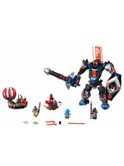 Конструктор DECOOL «Робот Чёрный рыцарь» 8018 (Нексо Найтс 70326) 531 деталь