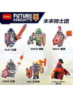 Конструктор DECOOL «Рыцари будущего» 8811-16 (Нексо Найтс) 6 шт.