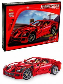 Конструктор Decool «Ferrari 599 GTB Fiorano 1:10» 3333 (Racers 8145) / 1322 детали