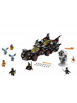 Конструктор DECOOL «Крутой Бэтмобиль» 7132 (Batman Movie 70917) 1456 деталей