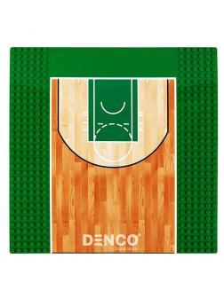 Строительная пластина «Баскетбольное поле» для конструктора Аналога ЛЕГО  25,7x25,7 см