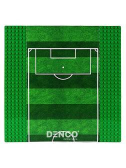 Строительная пластина для конструктора ЛЕГО «Футбольное поле» 25,7x25,7 см