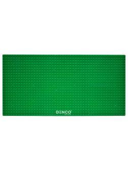 Строительная пластина для конструктора ЛЕГО 19x38 см / Зеленая