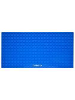 Пластина для конструктора ЛЕГО 19x38 см / Синяя