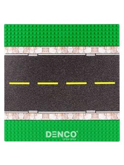 Строительная пластина для конструктора ЛЕГО «Прямая дорога» 25х25 см