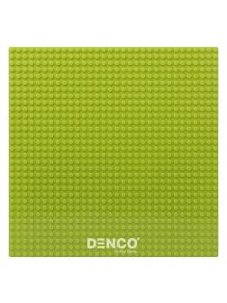 Пластина для конструктора ЛЕГО 40х40 см / Светло-зеленая