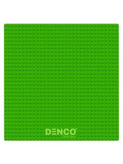 Строительная пластина для конструктора ЛЕГО 25х25 см / Зеленая