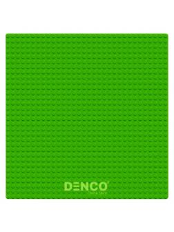 Строительная пластина для конструктора ЛЕГО 40х40 см / Зеленая